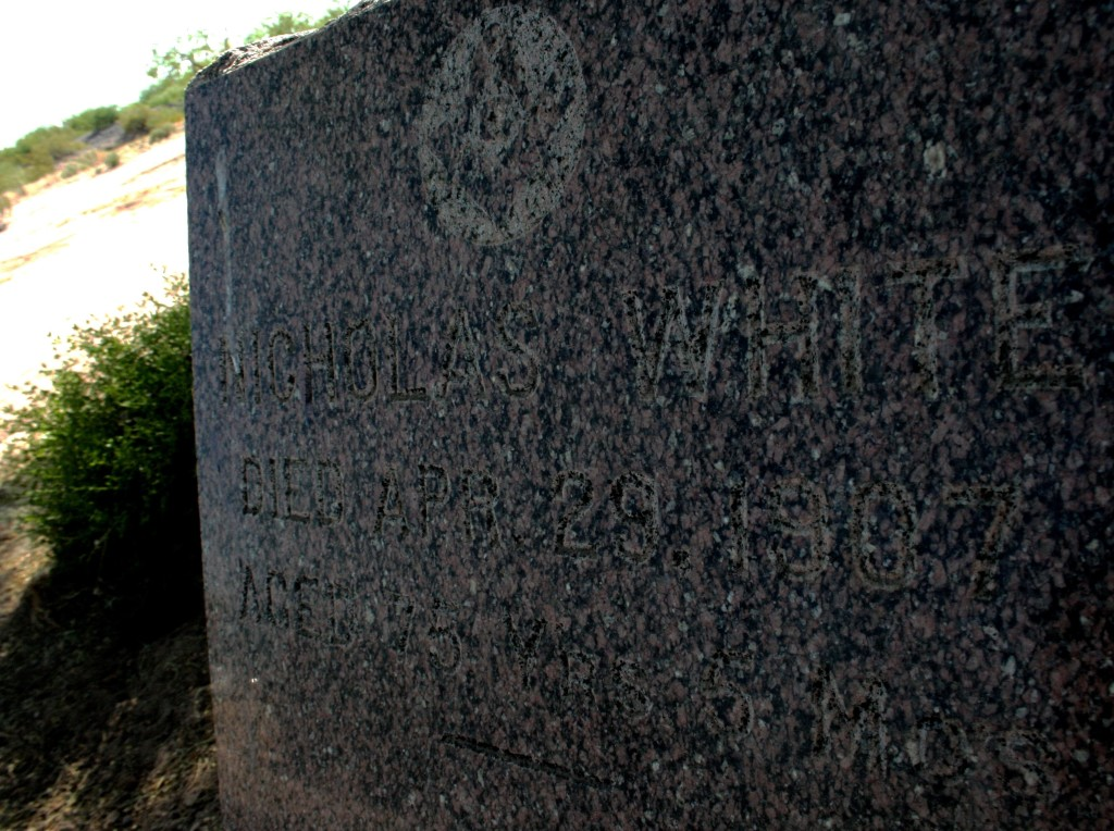 Freemason grave yard headstone