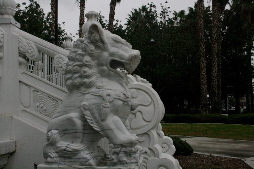 Stone Lion Riverside California