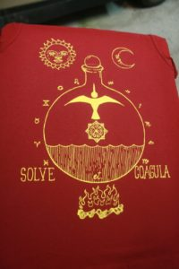 occult shirts by Closet of Mysteries Solve et Coagula shirt