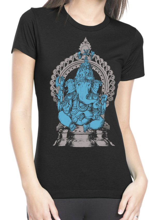 women's Ganesha shirt by Closet of Mysteries