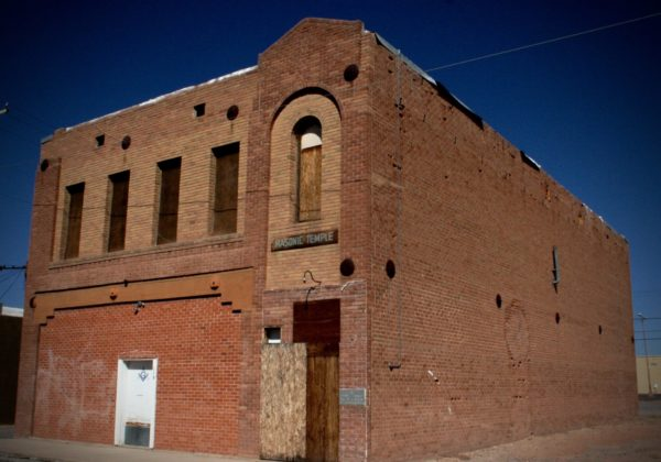 Travels around southern Arizona finds include an abandoned freemason temple in Cooldige