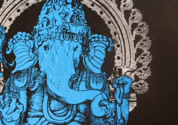 Hand Drawn Ganesh T Shirt Design – Behind the Scenes Look!