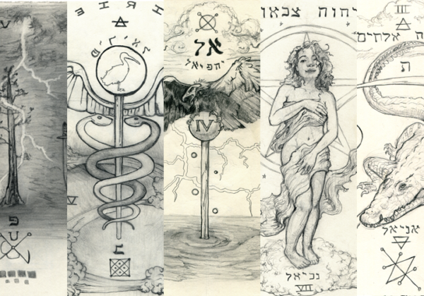 Esoteric Artwork for each of the Days of the Week